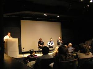 Mel Corn, Cecilio Cooper, Tina Takemoto, Keith Hennessy.