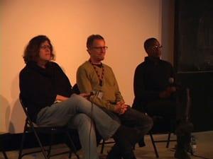 Susan Stryker, Rob Epstein, and Cheryl Dunye