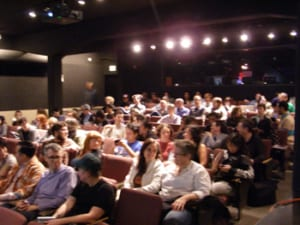 CCA audience at Female Trouble screening