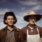 "Debbie Grossman Jean Norris and wife Virginia Norris, homesteaders and town founders Archival inkjet print 14 x 10.5"" 2010 Edition 2 of 15"