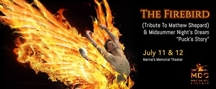 Man Dance Company presents The Firebird
