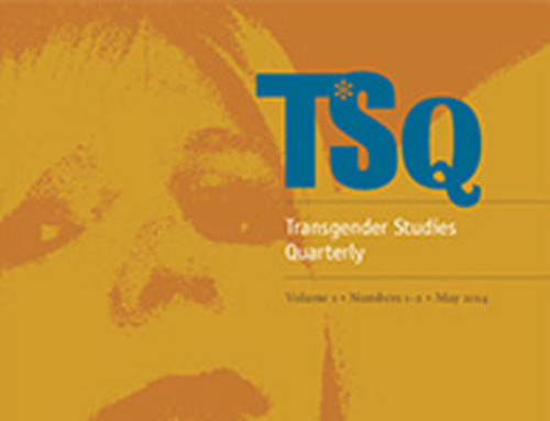 Trans-Cultural Production – David Getsy and Julian Carter